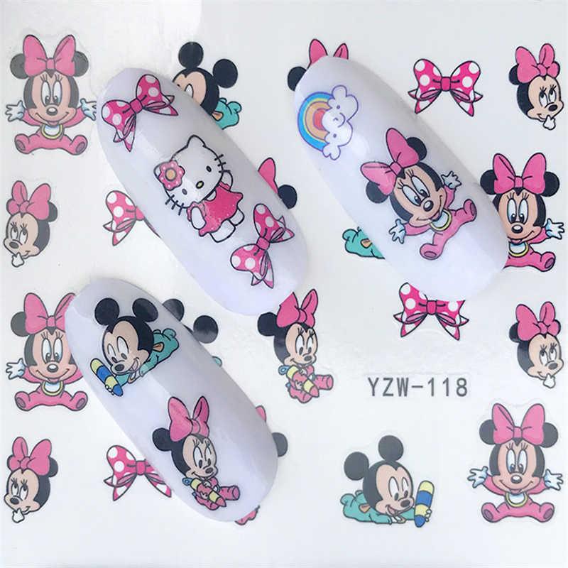 Water Foils Nail Art Sticker Fashion Nails Cartoon Harajuku Sailor moon Decals  Nail Decorations