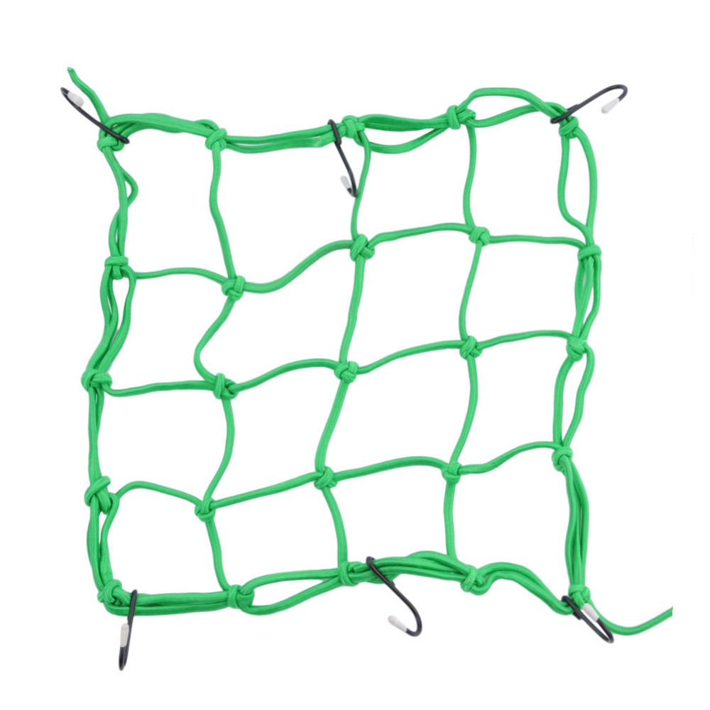30*30cm Motorcycle Helmet Net Mesh For Storage Carrier Bags,cargo Net For Motorcycles,helmet Sundries Fix Mesh With 6 Metal Hook #6
