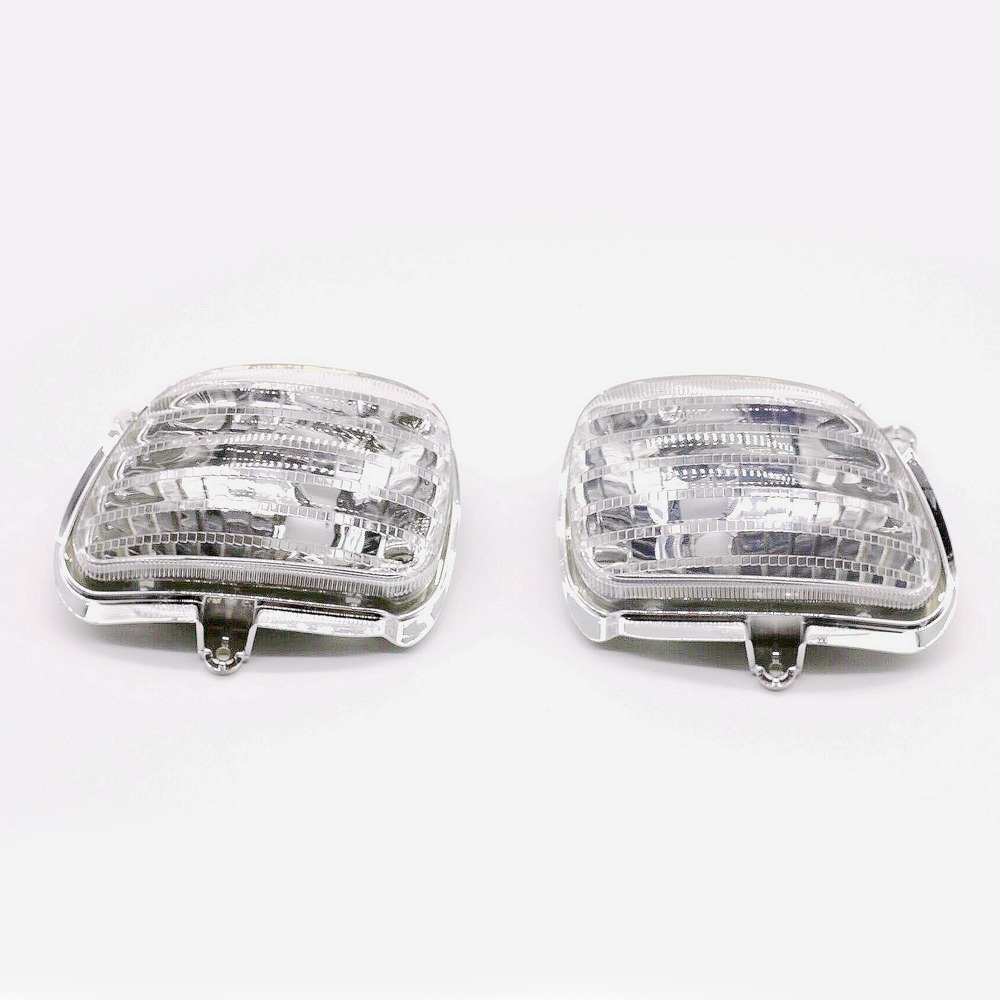 цены  Clear Front Turn Signal Lights Lens Shell For Honda Goldwing GL1800 2001 2002 2003 2004 2005 2006 2007 2008 2009 10 11 12 13 14