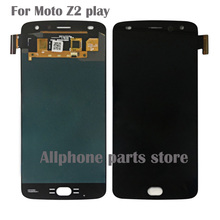 AAA+++ Quality test Lcd For Motorola Moto Z play lcd screen moto Z2 moto Z3 play LCD Display Touch Screen Digitizer Assembly