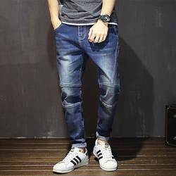 Ropa De Hombre 2018 брюки карго карандаш карманы полная длина тонкие брюки повседневные мужские брюки штаны-карго мужские уличные Сращенные джинсы