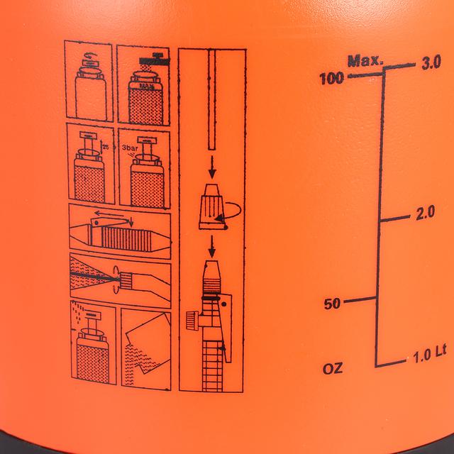 3L Hand Pressure Sprayer for Garden Irrigation Washing Agricultural Gardening Tool For Garden Irrigation Garden Supplies