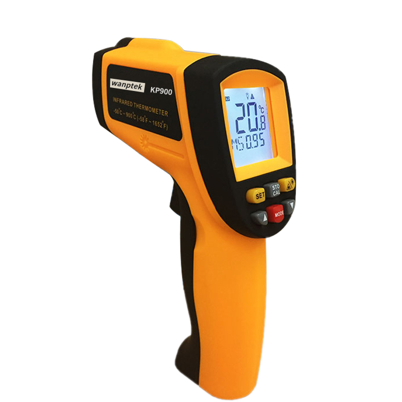 Thermometer Digital IR Laster Infrared Temperature Meter Non-contact LCD Gun Style Handheld -50-900C -58-1652F Pyrometer цена 2016