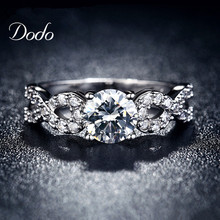 Bague бесконечность бриллиантами обручальные bijoux cz позолоченный любовь винтаж кольца кольцо