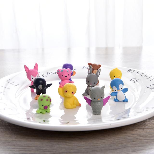 Mini Cartoon Animals Dolls 28 pcs Set