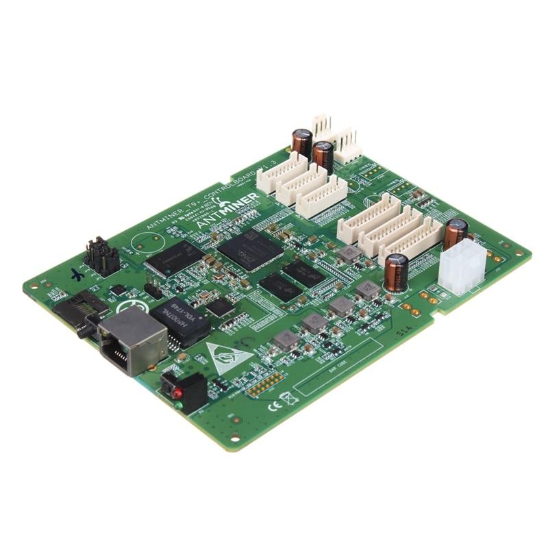Effizient Antminer T9 Control Board Bitcoin Miner Teile Antminer T9 Reparatur Teil Bergbau Maschine Hashboard Daten Schaltung Integrierte Bord Kunden Zuerst