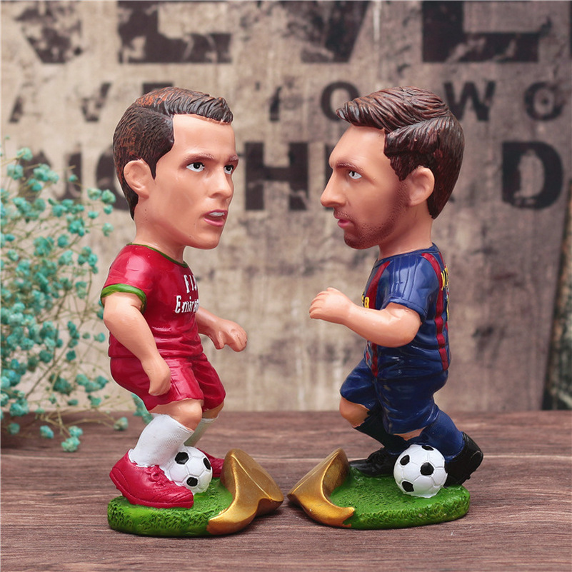 New Footabll Sport Star Cristiano Ronaldo Big Toys Model Messi Action Dolls Figurine Home Decor World Cup Souvenir Kids Gift