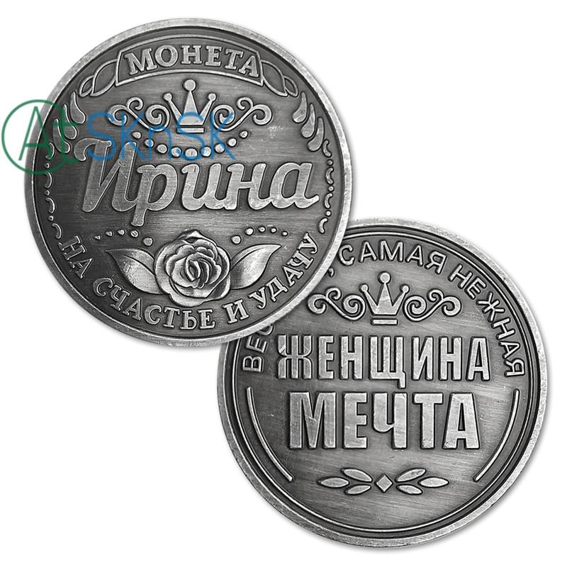 Moneda rusa Irina monedas conmemorativas Colección Recuerdos de - Decoración del hogar