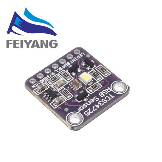 10Pcs Samiore Robot 34725 TCS34725 Kleur Sensor Rgb Kleur Sensor Development Board Module