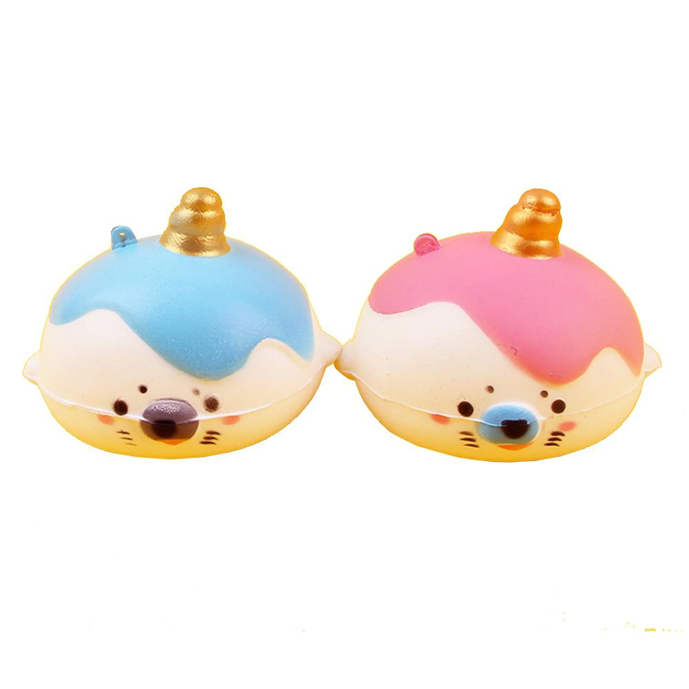 Cute Small Seals PU Squishies Slow Rising Toys Doll Decoration Stress Relief Toy