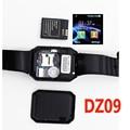 Smart Watch DZ09 Bluetooth Smartwatch Поддержка Sim-карты Телефон Камеры GSM/TF Мужчины Наручные Часы для IOS Android Телефон PK U8 GV18 GT08