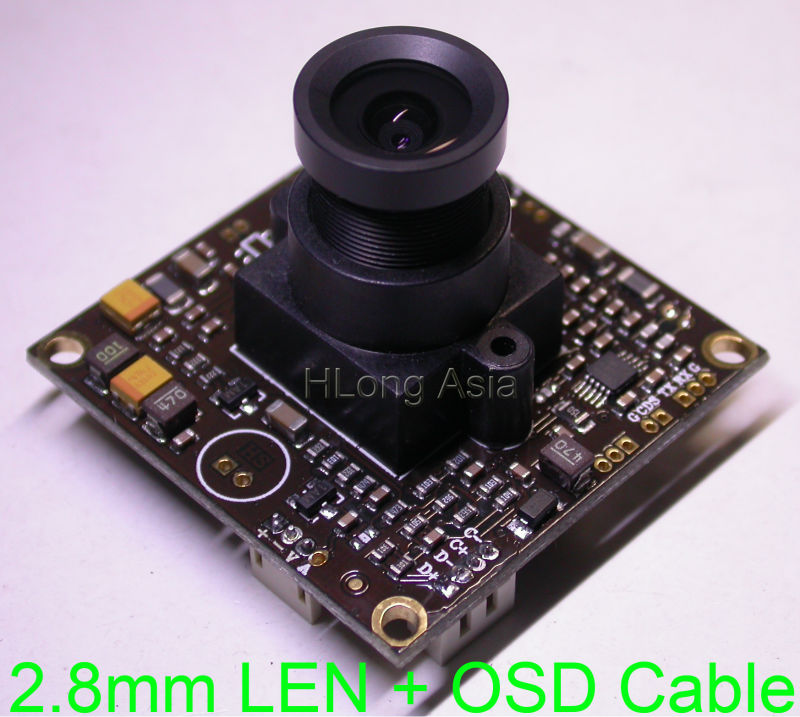 2 8mm LEN WDR EFFIO V 1 3 Sony dual speed CCD sensor ICX662 663 CXD4141