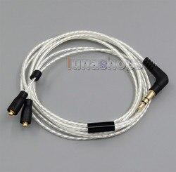 Lekki srebrny Plated kabel OCC dla Westone UM10pro UM20pro UM30pro UM40pro UM50pro słuchawki LN005096