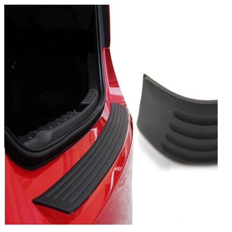 Car Rubber Rear Guard Bumper Protector Trim For Audi Q3 Q5 SQ5 Q7 A3 S3 A4 S4 RS4 RS5 A5 A6 S6 C6 C7 S5 A7 S7 A8 c5 Accessories