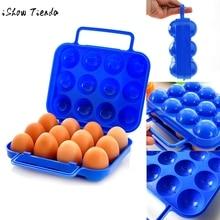 Портативный пластиковый контейнер для яиц 12/6, складной ящик для хранения яиц, чехол с ручкой, специально разработанный для переноски яиц