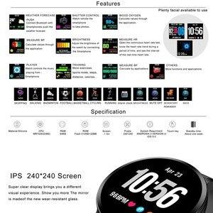 Image 3 - Greentiger V11 ساعة ذكية النشاط جهاز تعقب للياقة البدنية الرياضة Smartwatch IP67 للماء مراقب معدل ضربات القلب الرجال النساء VS DT78 L11 F8