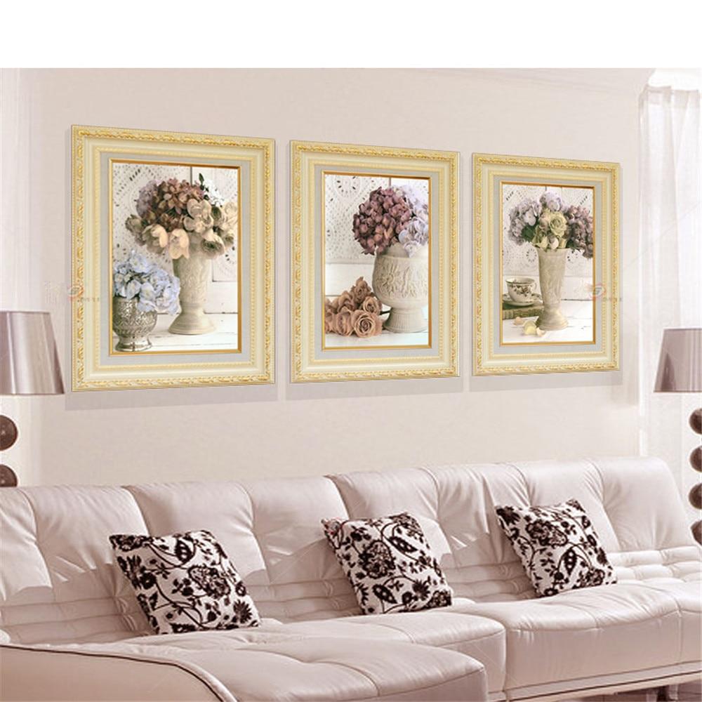 Compra flower oil painting simple y disfruta del envío gratuito en ...