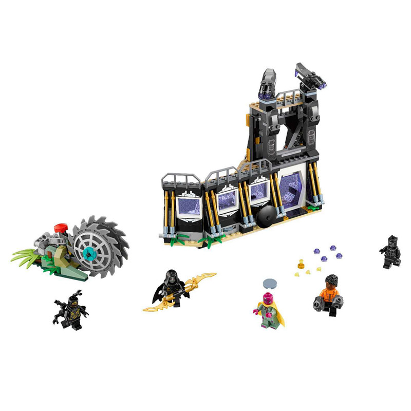 Figurine Lego Super Heros Infinity War Set 76103 100/% Lego-Black Panther -NEW