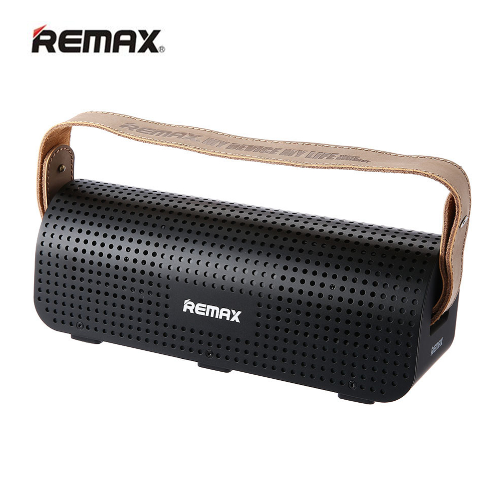 REMAX H1 Hands-free NFC Wireless Bluetooth 4.0 Speaker Portable Wireless Music Player Long Playtime Support AUX TF/Micro SD Card portable mini bluetooth speaker bluetooth wireless remote contro l camera shutter release portable am fm radio tf card optional support portable wireless hands free bluetooth multi functional bluetooth stereo led to remind the light for ios andr