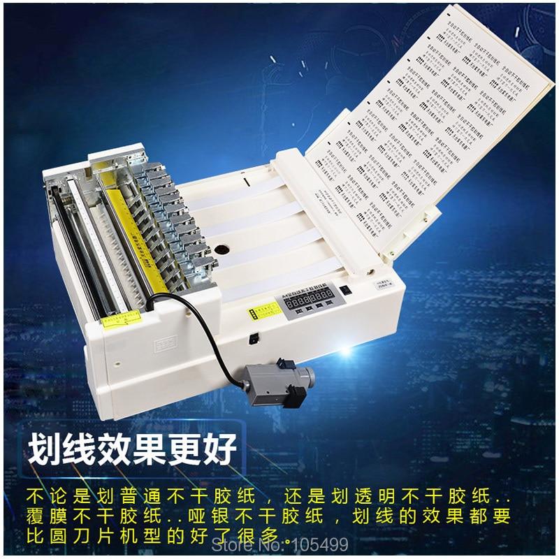 Máquina de corte automática da etiqueta do
