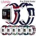 Ремешок для часов Fitbit Ionic  Классический нейлоновый ремешок для часов для отдыха  аксессуары для умных часов