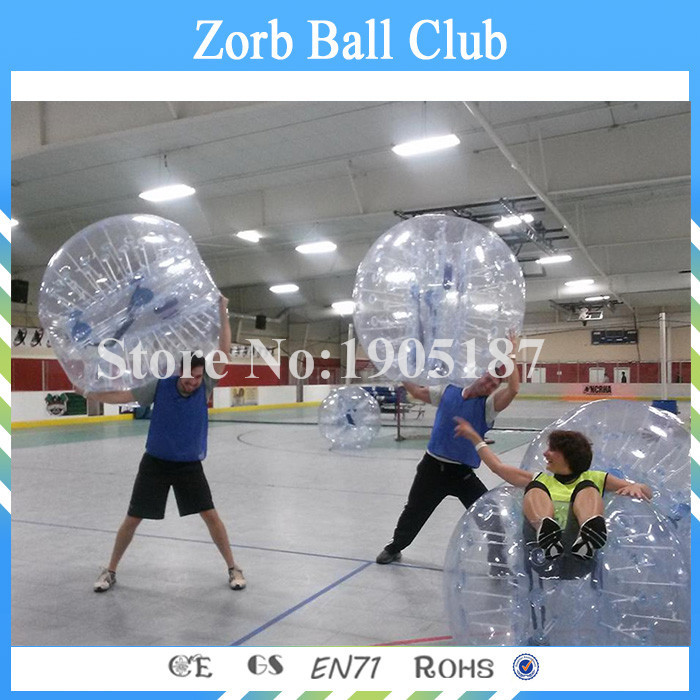 Free Shipping Hot selling Free LOGO TPU Inflatable Ball Suit, Bubble Ball Soccer, Bubble Football For Sale