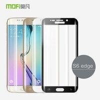 Für Samsung Galaxy S6 Rand Glas Gehärtetes 3D Gebogene Full Cover Schutzfolie S6edge Displayschutzfolie S6 Rand Gehärtetem Glas