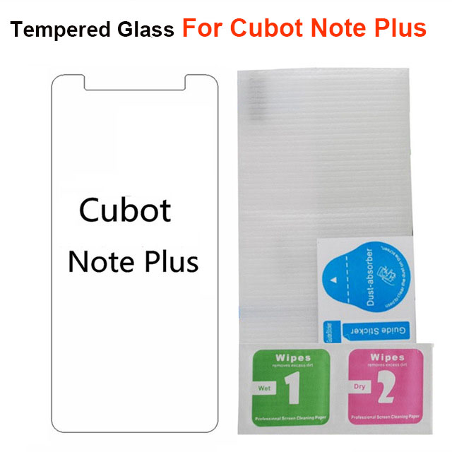 Cubot Note Plus Tempered Glass Film Screen Protector High Quality 9H 0.26mm Front Glass Protector For Cubot Note Plus Film 5.2