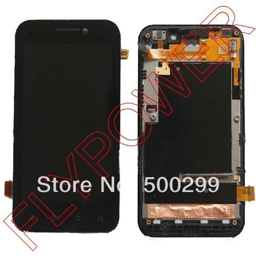 цены  100% warranty LCD Display + Touch Screen Digitizer Assembly + Front Frame For Huawei honor U8860 by free shipping