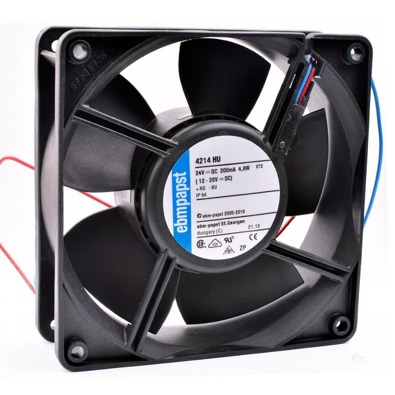 Brand new original 4214 HU 12cm 120mm 120x120x38mm DC24V 200mA 4.8W Inverter cooling fanBrand new original 4214 HU 12cm 120mm 120x120x38mm DC24V 200mA 4.8W Inverter cooling fan