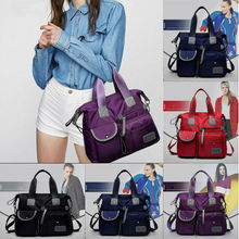Ladies Creative Large Designer Nylon cloth style shoulder bag Travel Bags ladies large capacity handbag