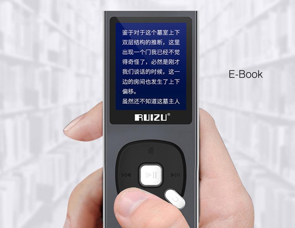 de Som Portátil Com Rádio FM Ebook gravador de Voz gravador