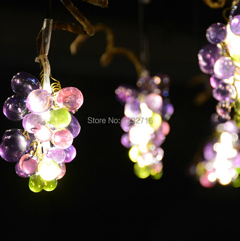 Solar grape lamps string lights led garden light decoration solar grape lamps string lights led garden light decoration chandelier hanging tree lamp decoration garden free shipping in solar lamps from lights aloadofball Image collections