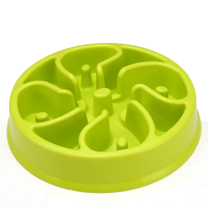 Пластиковая чаша для домашних собак, антидроссель, поедание, замедленная подача воды для маленьких и крупных собак, кошек BW736