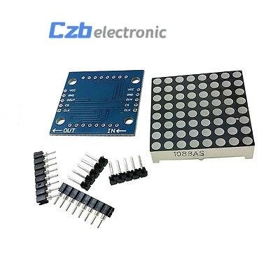 MAX7219 dot matrix module microcontroller module DIY KIT