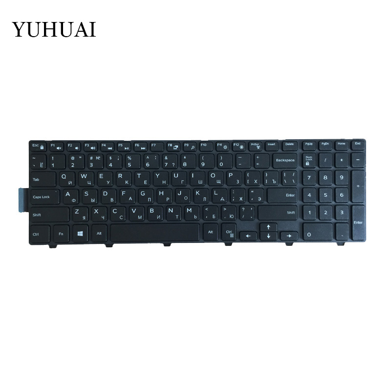 Image 4 - Russian RU laptop Keyboard for Dell Inspiron 15 3000 5000 3541 3542 3543 5542 3550 5545 5547 15 5547 15 5000 15 5545 17 5000-in Replacement Keyboards from Computer & Office on