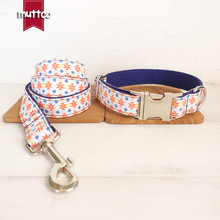 Christmas New Year Gift Pet Dog Collar Leash Set Pet Supplies Thick And Durable Collars Leashes Sets For Puppy Big Or Small Dogs