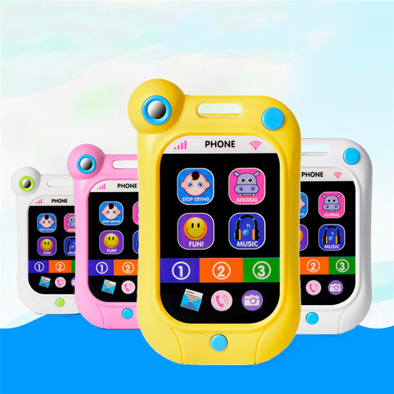 Kids Simulator Music Phone Touch Screen Kid Educational Learning Toy Gift LJ