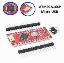 100pcs Micro USB Nano With the bootloader ATMEGA168P Nano 3.0 controller compatible Nano v3.0 CH340 USB driver 16Mhz for arduino