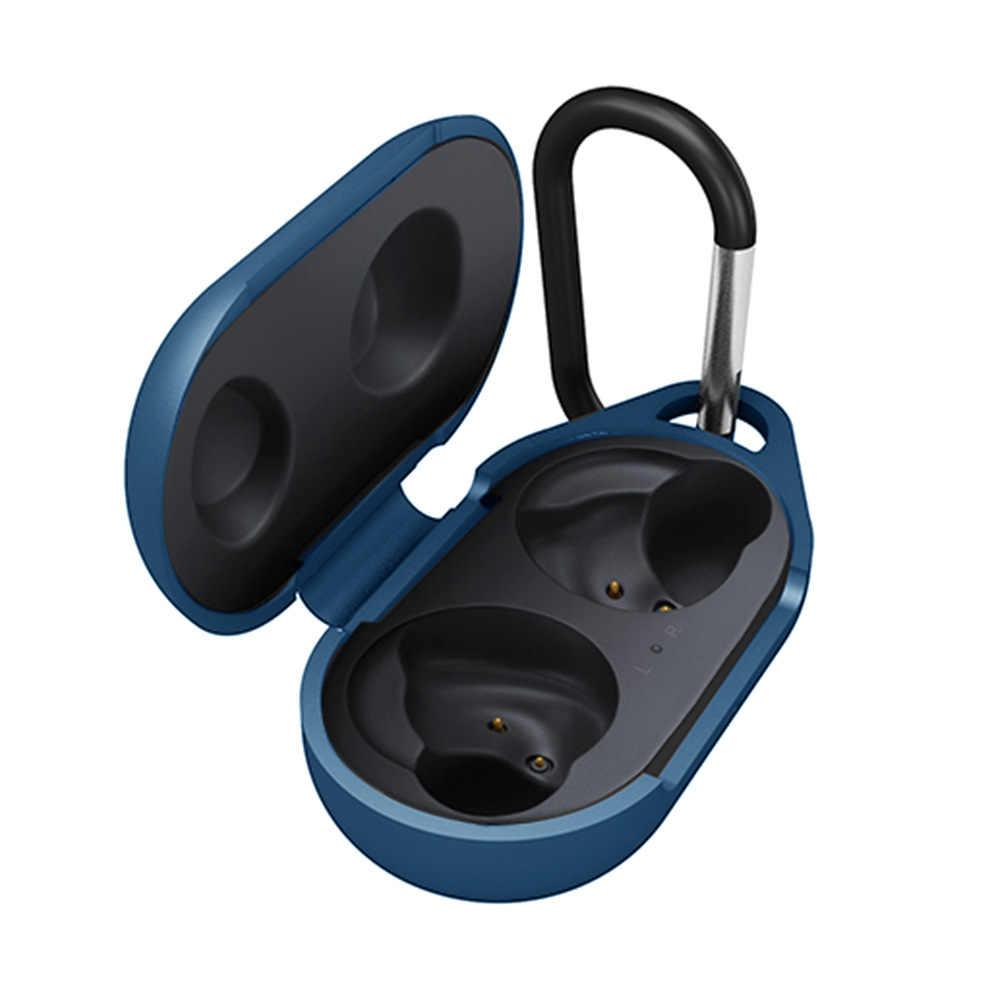 Anti-shock Headphoe etui do Galaxy pąki elastyczne silikonowe ochronna pokrywa dla Samsung Galaxy pąki sportowe słuchawki bluetooth