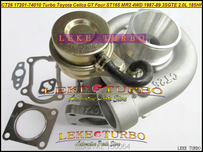 CT26 17201-74010 1720174010 Turbo Turbocharger For TOYOTA Celica GT Four ST165 MR2 4WD 1987-1989 3SGTE 3S-GTE 3SG-TE 2.0L 185HP аэродинамический обвес toyota mr