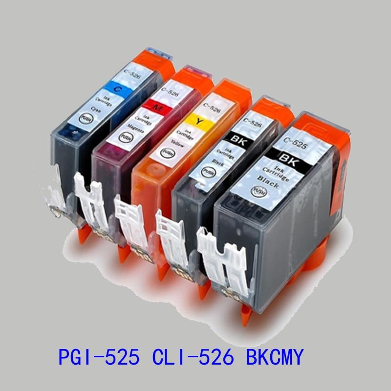 Le cartucce di inchiostro 40 x PGI-525 CLI-526 Canon Pixma MG5250 MG5350 IP4850 IP4950