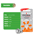 60 PCS Free Shipping Zinc Air Hearing Aid Battery13/P13/PR48 .Rayovac Extra Performance Hearing Aid Batteries 13A