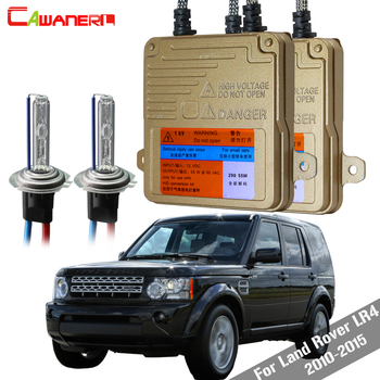 Cawanerl H7 55W Canbus HID Xenon Kit AC Ballast Bulb 3000K-8000K For Land Rover LR4 2010-2015 Car Light Headlight Low Beam