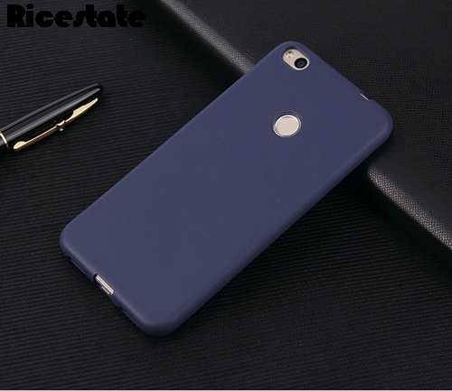 Huawei P8 Lite 2017 P9 lite 2017 Matte soft Case สำหรับ Huawei Honor 8 lite สีทึบและนุ่มปกหลัง