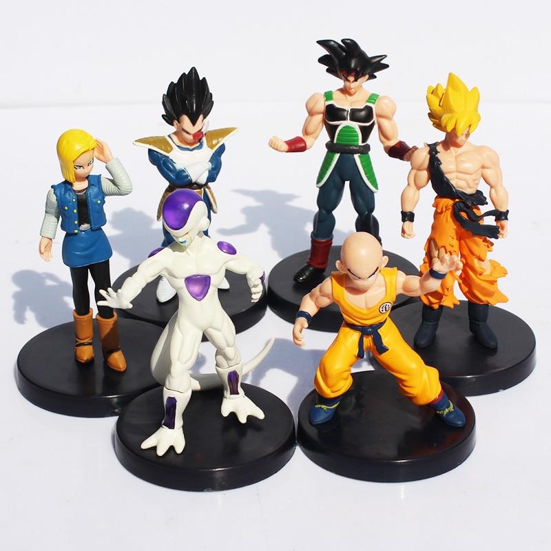 "4.7/"" 8Pcs//Set Dragonball Z Dragon Ball Joint Movable Action Figure Kids Toys HOT"