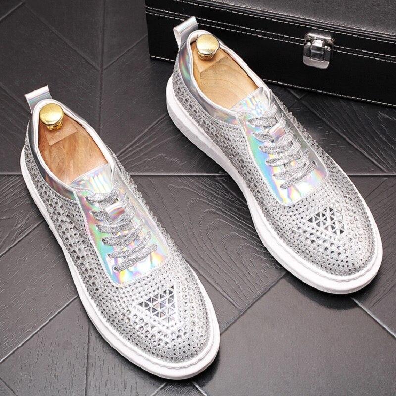 New loafers chaussures hommes en cuir luxe men shoes luxury brand leather shoes men heren schoenen
