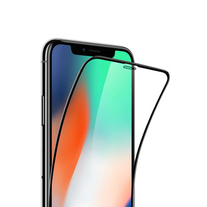 Image 2 - Mijia Youpin 3D Full Screen Protector Scratchproof Tempered Glass Screen Cover Film For  iPhone XS MAX/XS/X/XR/8P/8/7P/7