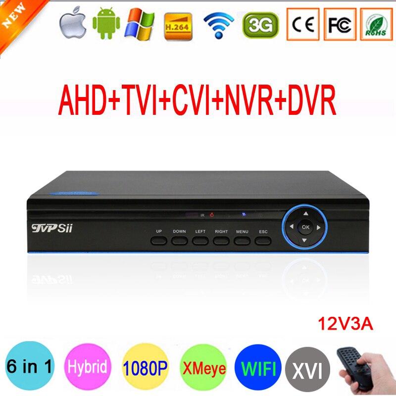 1080P,960P,720P,960H CCTV Camera XMeye Hi3521A 16 Channel 16CH 6 in 1 Coaxial Hybrid XVI 1080N CVI TVI NVR AHD DVR Free Shipping 1080p 960p 720p 960h cctv camera hi3531a 32ch 32 channel 6 in 1 coaxial hybrid nvr cvi tvi ahd dvr surveillance video recorder