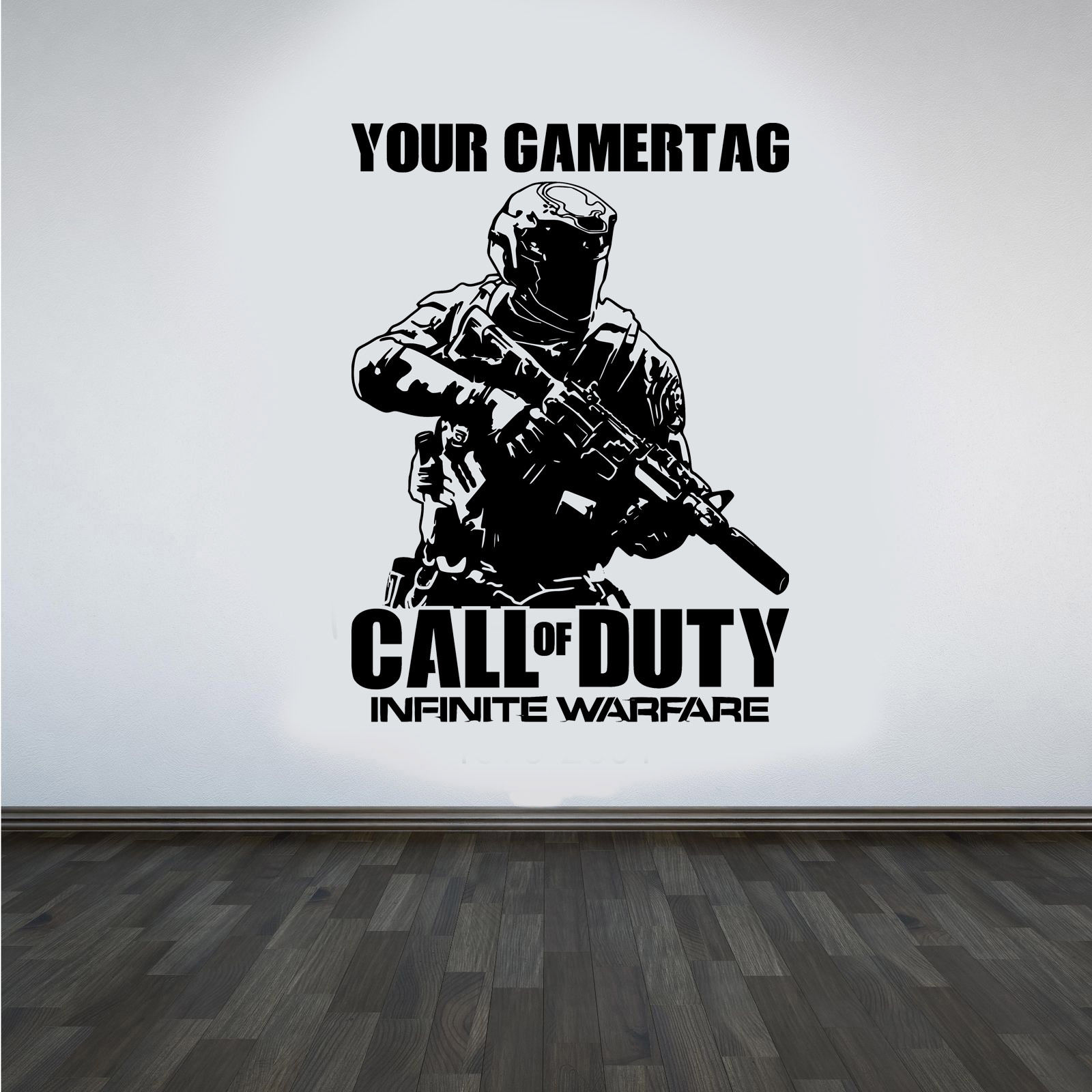 Call of duty Infinite Warfare Vinyl Wall Art Decal WALL STICKERS ...